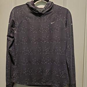 Nike dri fit hoodie top